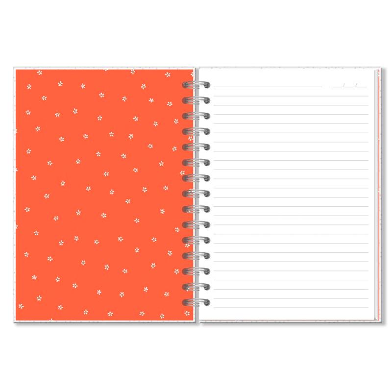 Caderno Clássico Frases Coloridas