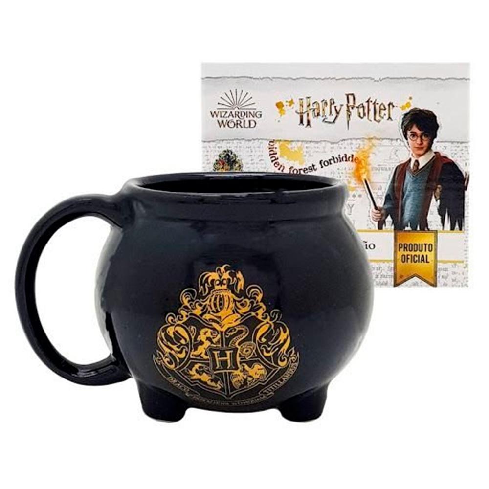 Caneca formato 3D Caldeirão Hogwarts Harry Potter - ZONA CRIATIVA