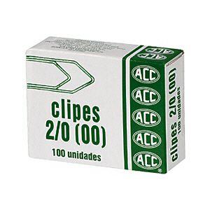 Clipes 2/0  Galvanizado ACC - 100 Unidades