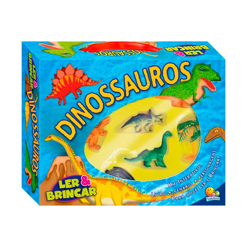 DINOSSAUROS - LER E BRINCAR