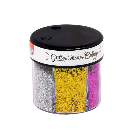 Glitter Shaker Colors BRW Glitter 60g com 6 Cores