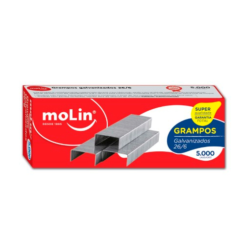 Grampos Galvanizados MOLIN 26/6