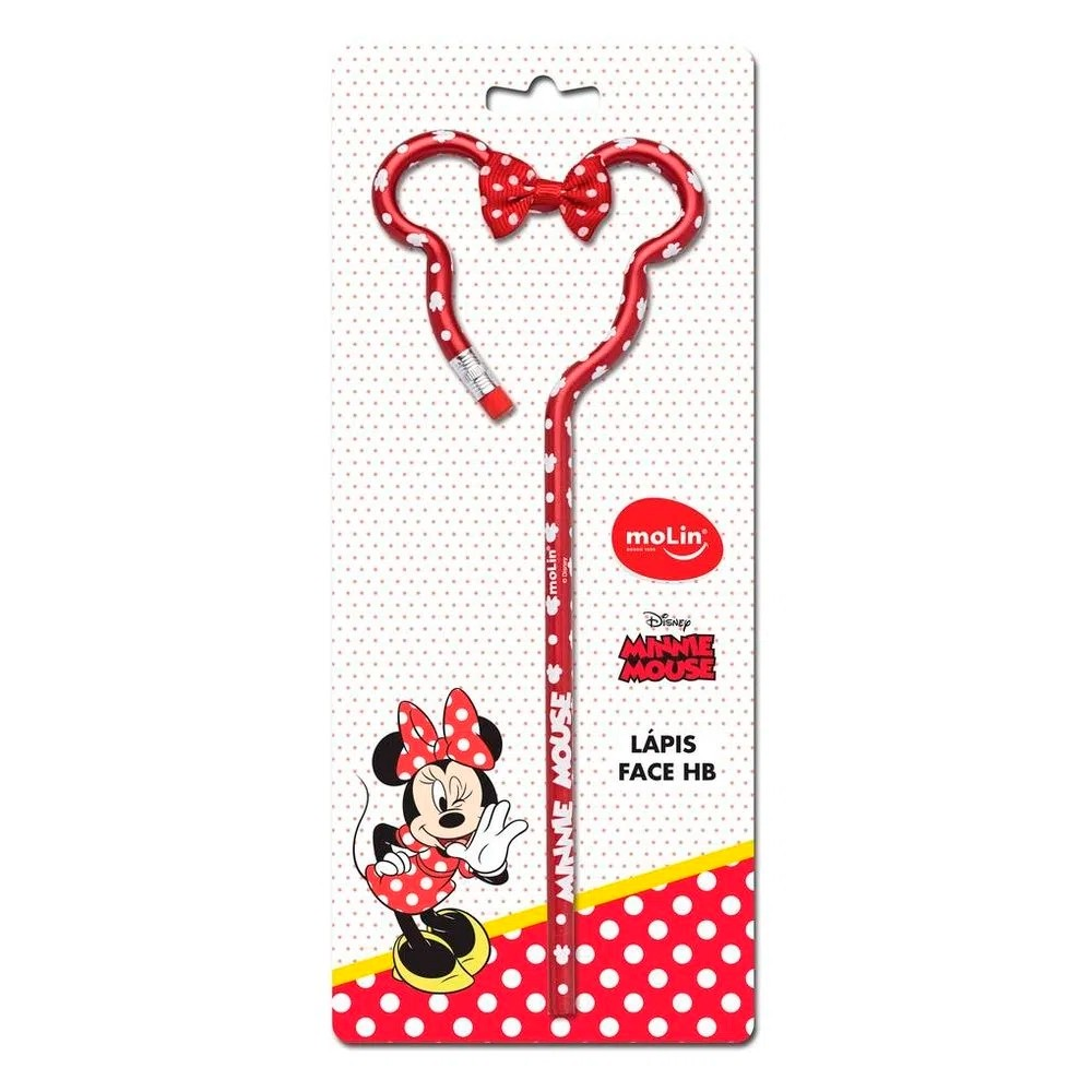 LAPIS PRETO FACE MINNIE