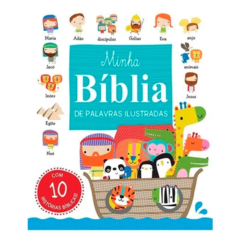 Livro Bíblico Minha Bíblia De Palavras Ilustradas CIRANDA CULTURAL