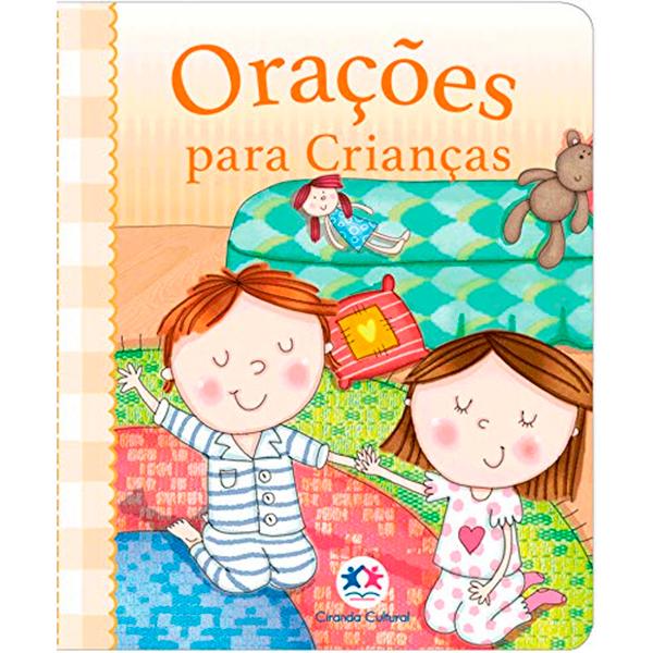 LIVROS DE ORAÇÕES INFANTIL CIRANDA CULTURAL
