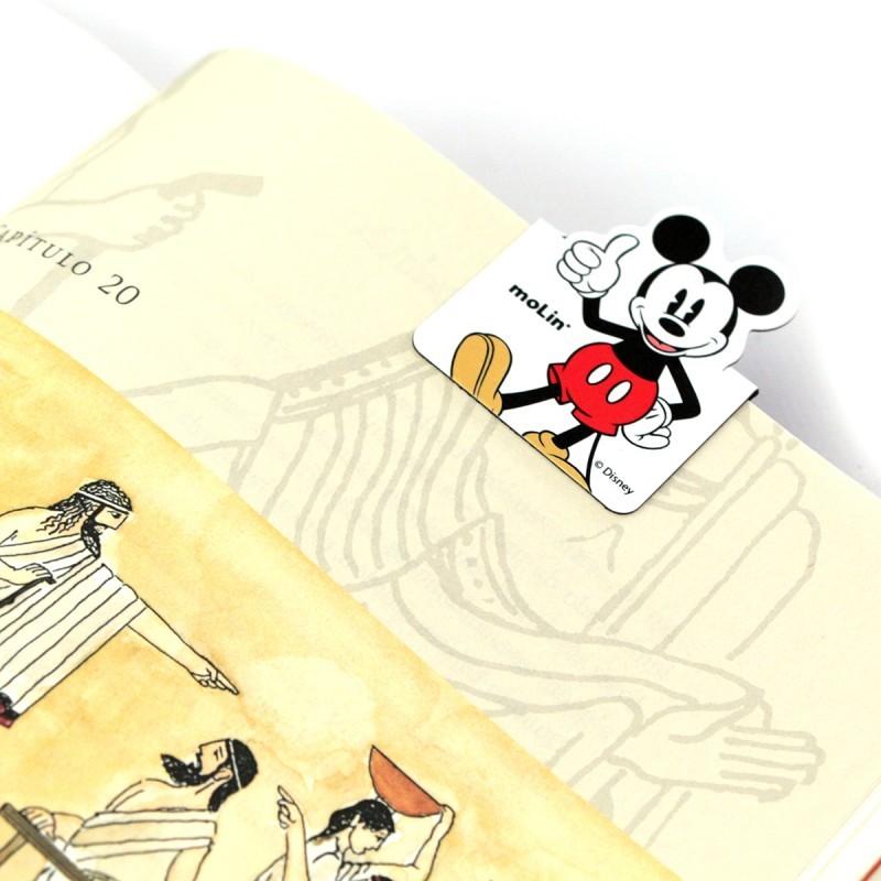 Marcador de Página Magnético Mickey Mouse Disney - 2UNIDADES