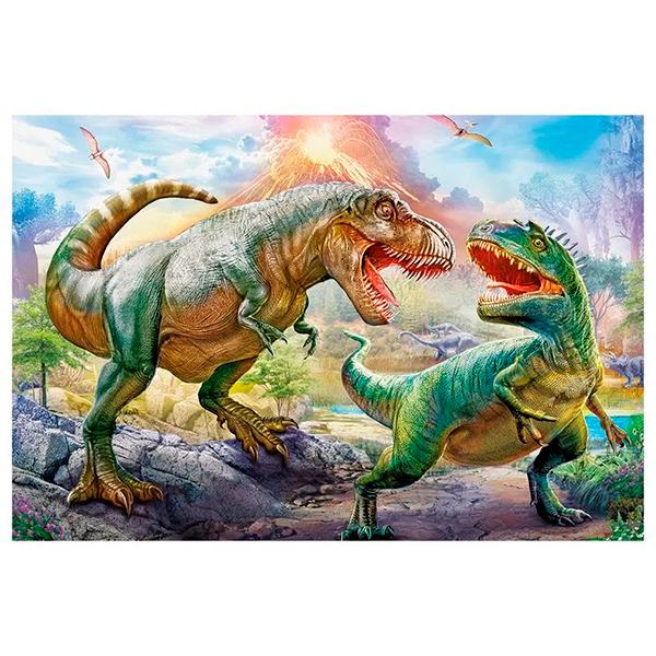 Quebra-Cabeça Puzzle Batalhas dos Dinossauros - GROW