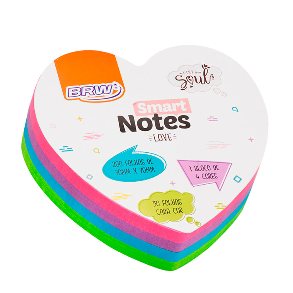 Smart Notes - Love - 70 x 70 mm - BRW