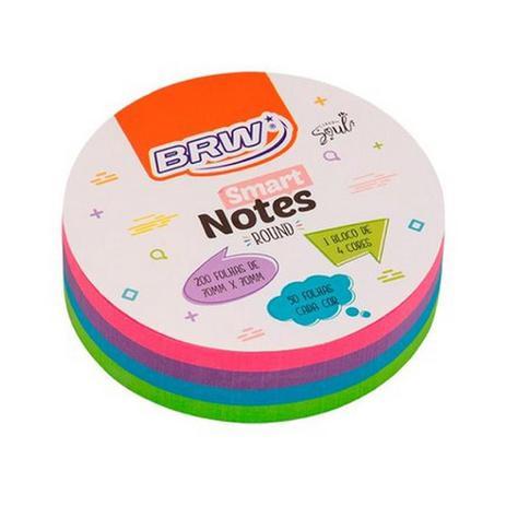 Smart Notes - Round - 45 x 45 mm - BRW