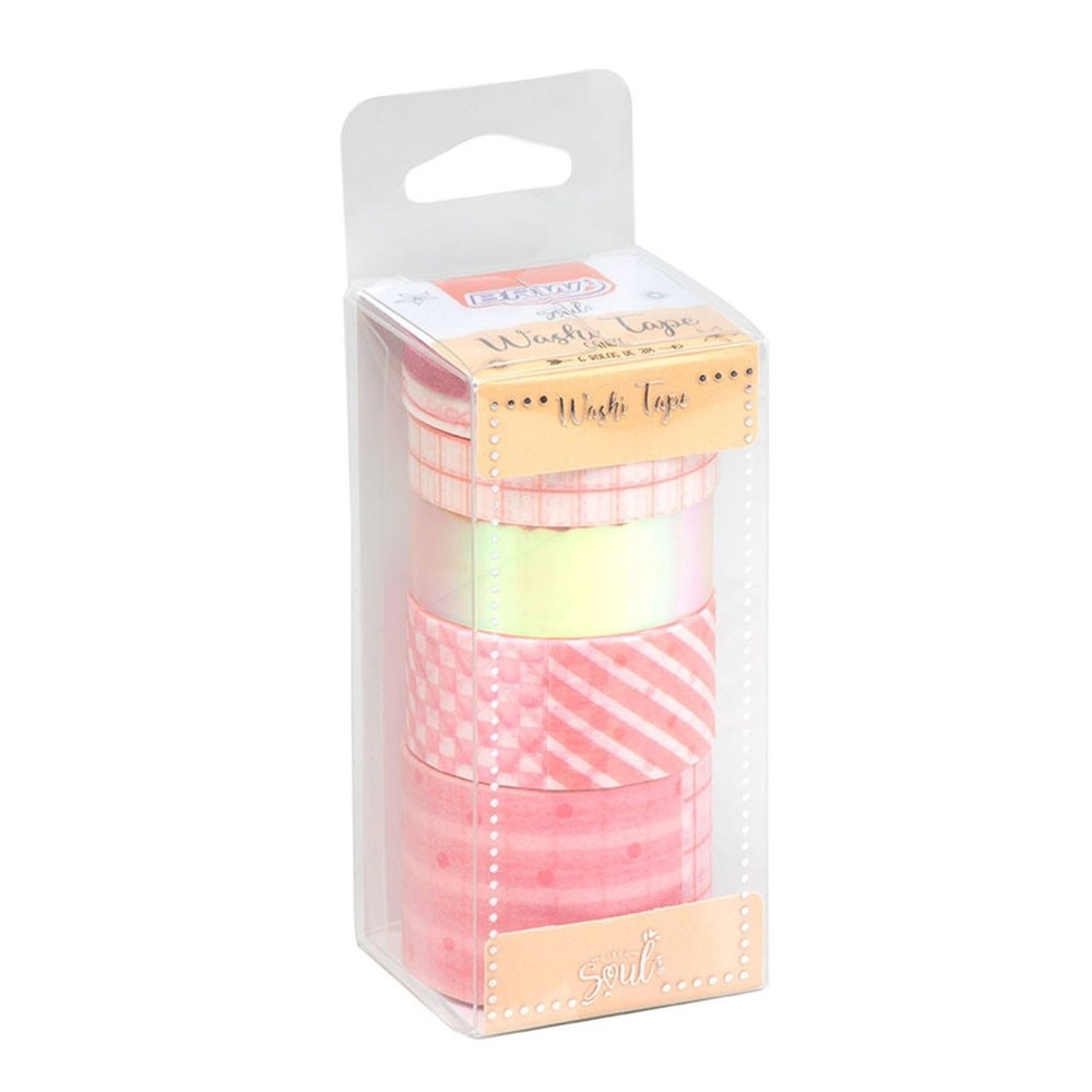 WASHI TAPE CANDY 6UNID - WT0804