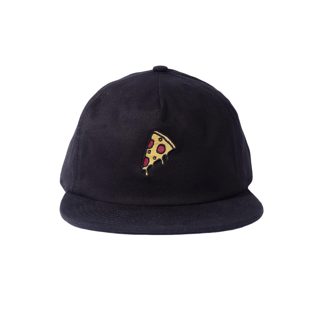 Boné Desconstruido Pizza Preto