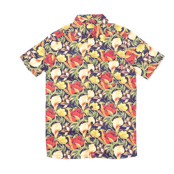 Camisa Botão Básica Floral P