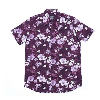 Camisa Botão Básica Roxa M