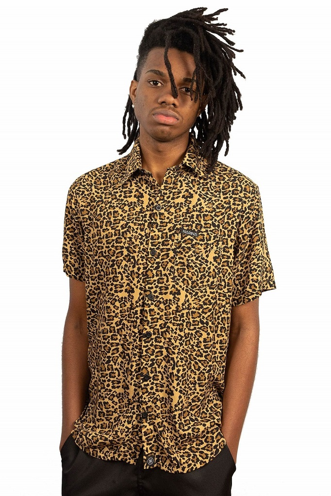 Camisa Narina Skate Viscose Jaguar