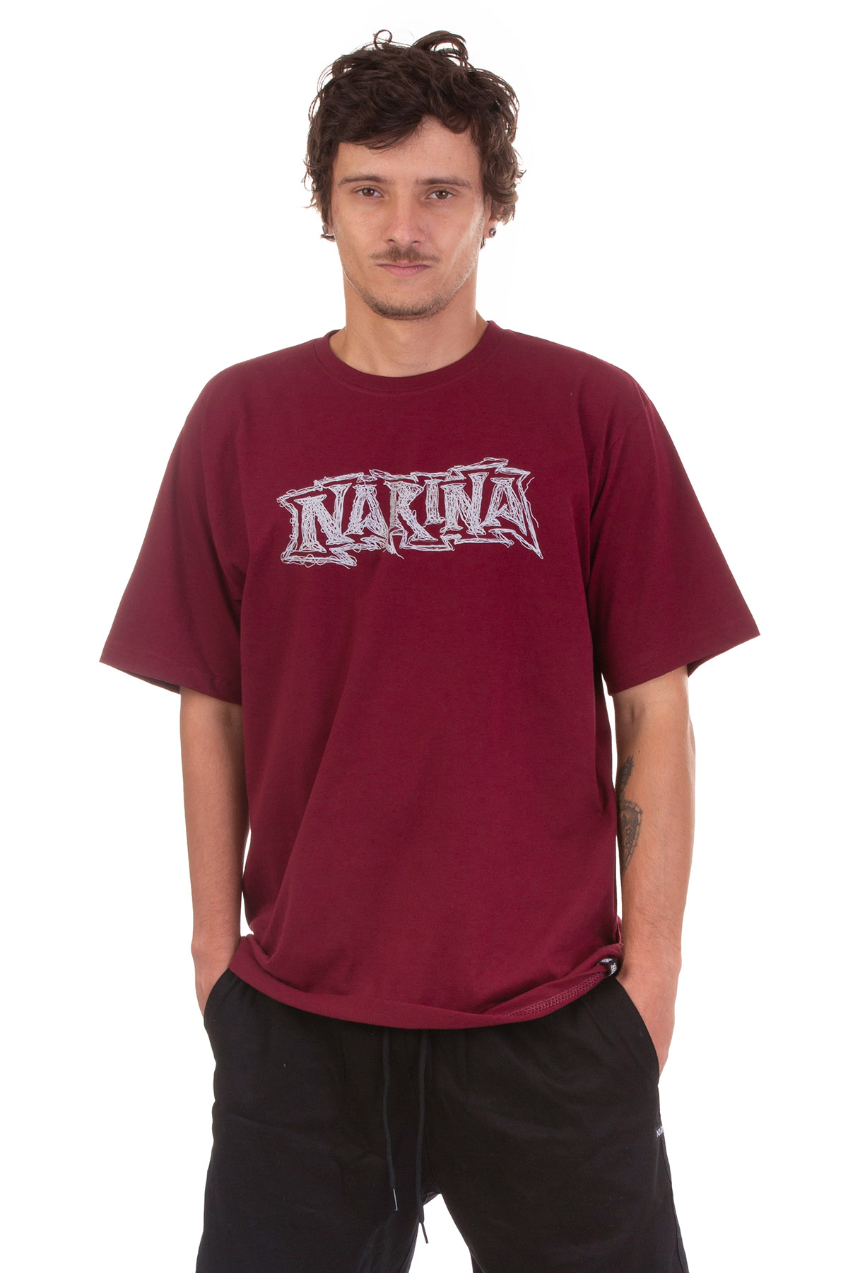 Camiseta Big Logo 3d Narina Skate