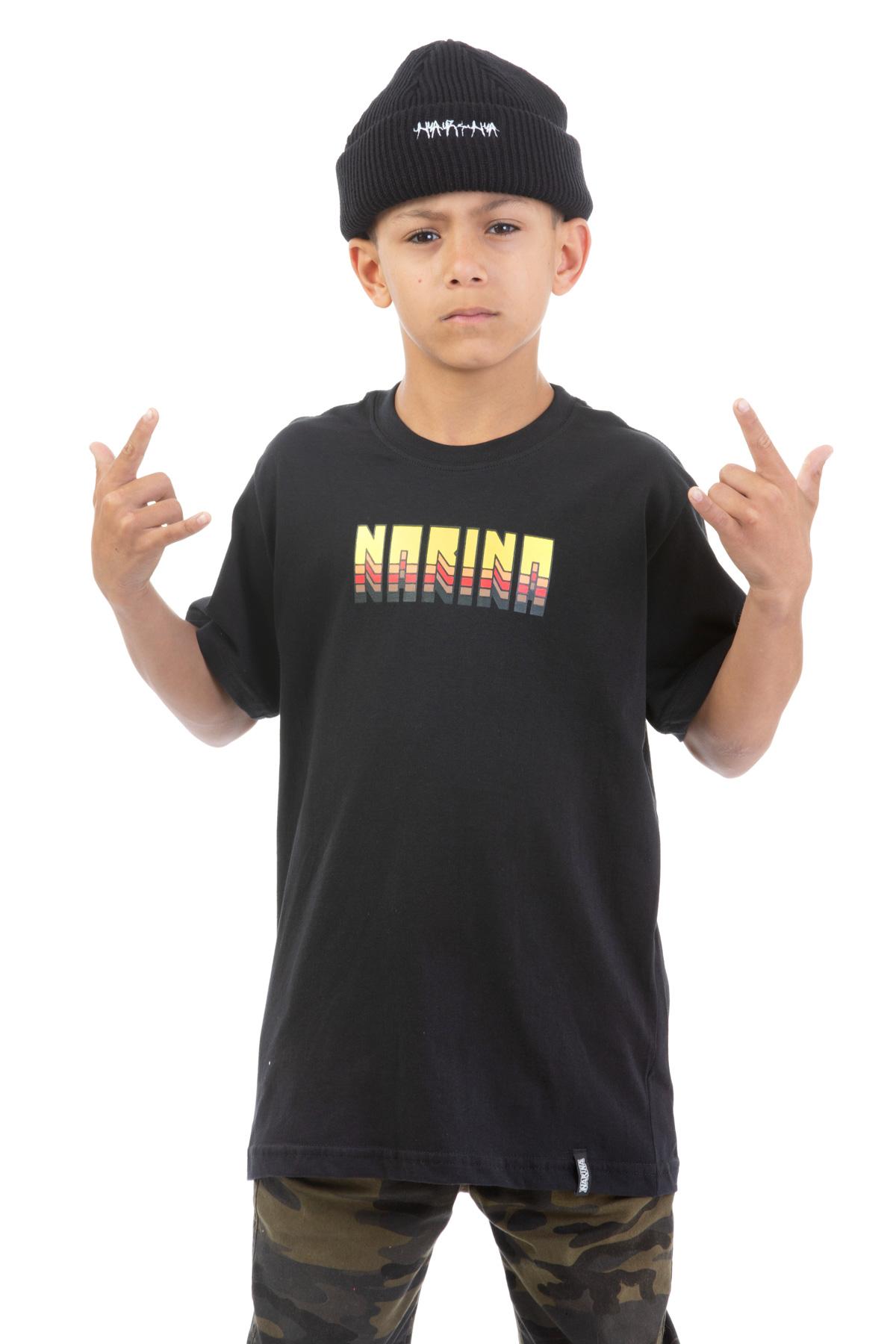 Camiseta Manga Curta Juvenil Narina Skate Retro