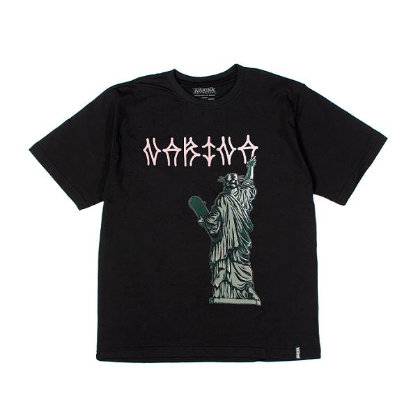 Camiseta Manga Curta Narina Skate Liberdade