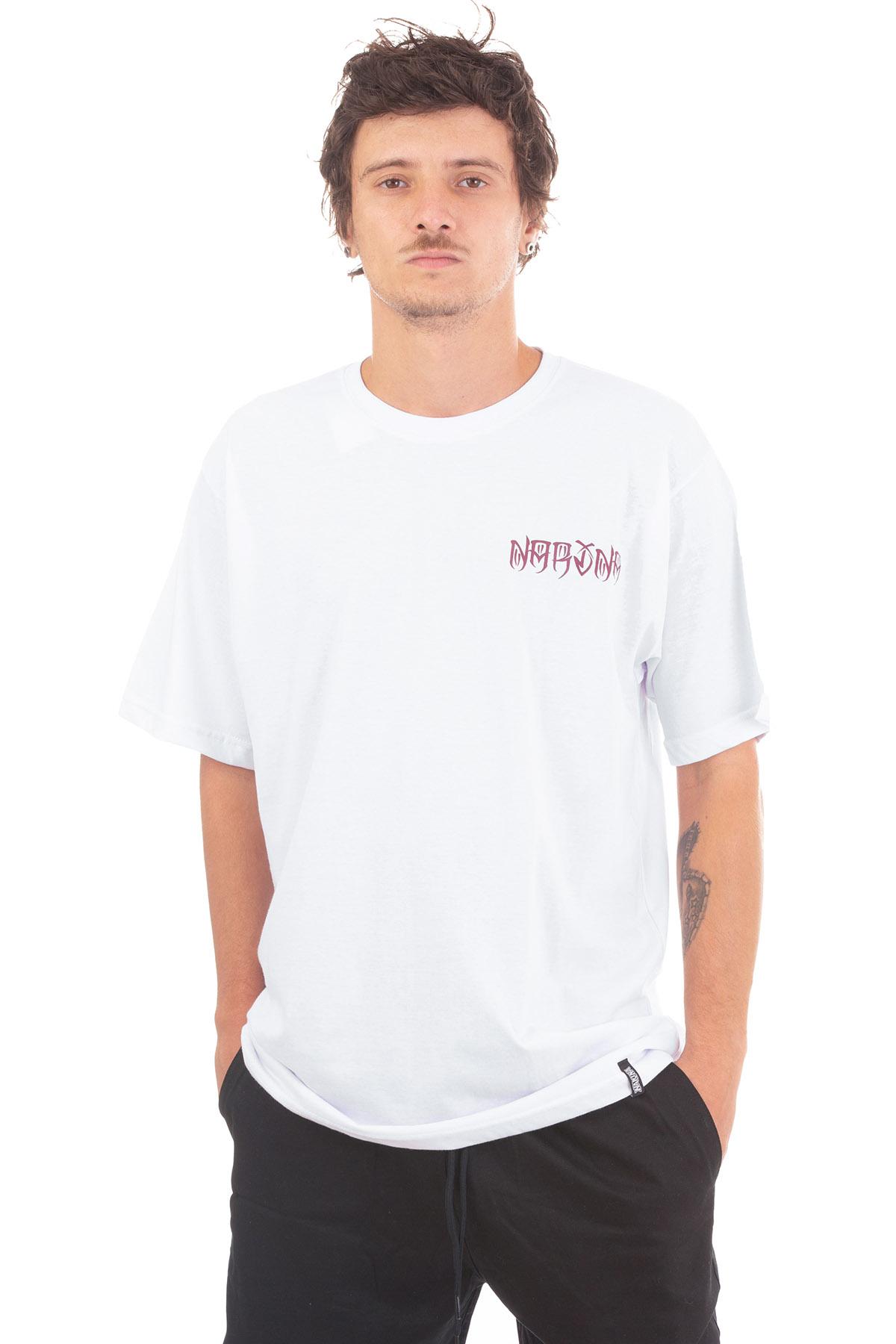 Camiseta Manga Curta Narina Skate Letreiro