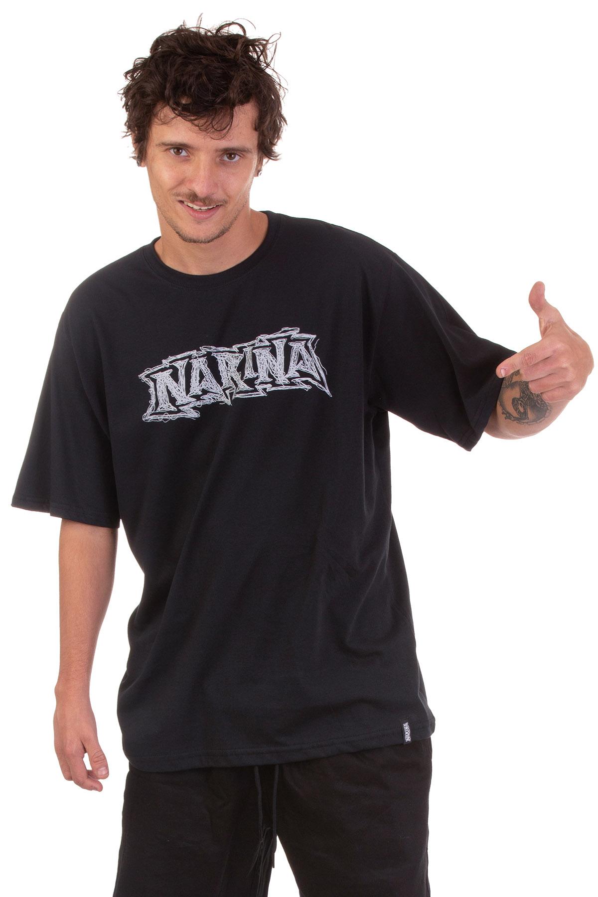 Camiseta Manga Curta Narina Skate Logo 3D