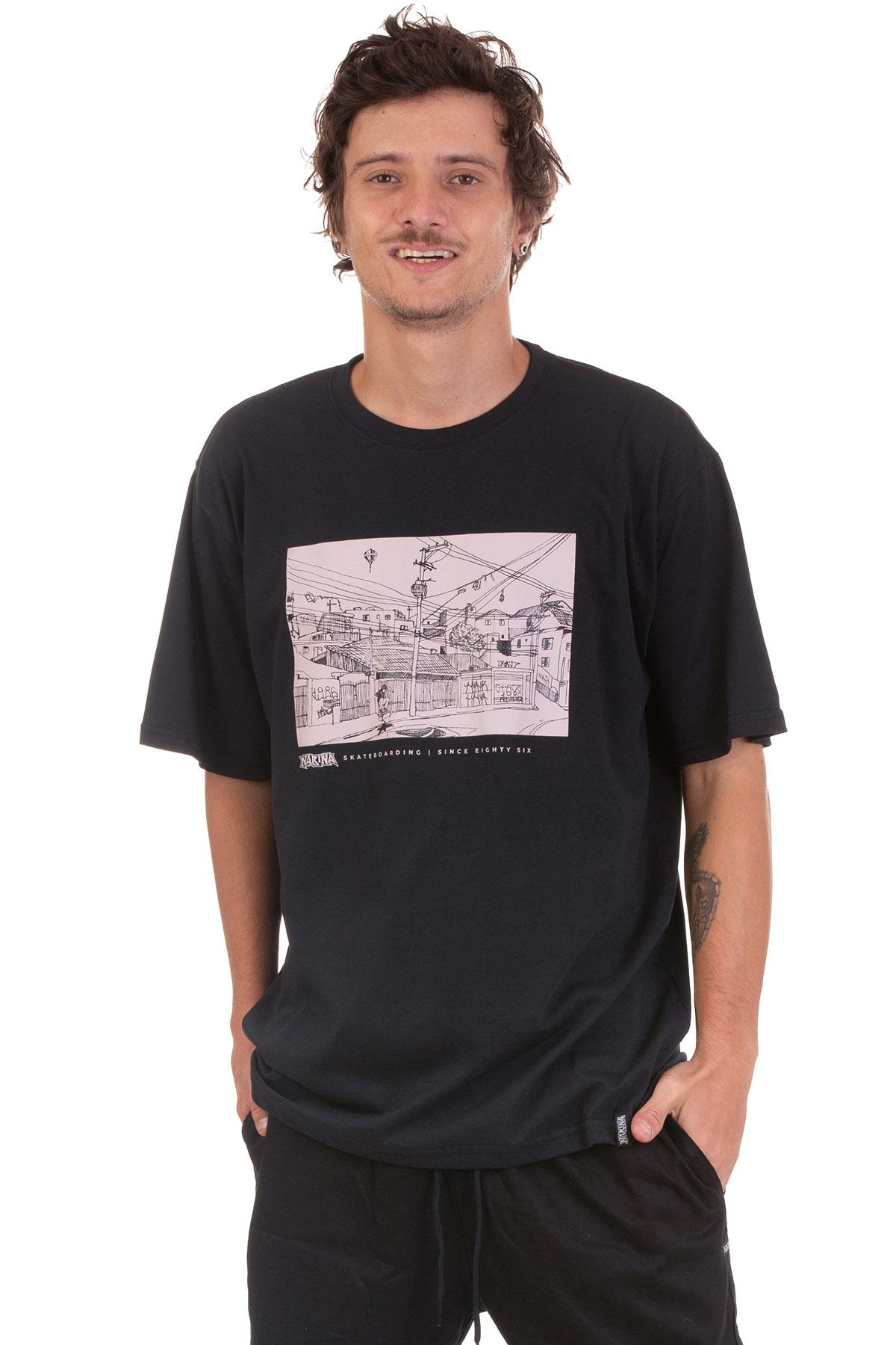 Camiseta Manga Curta Narina Skate Vila