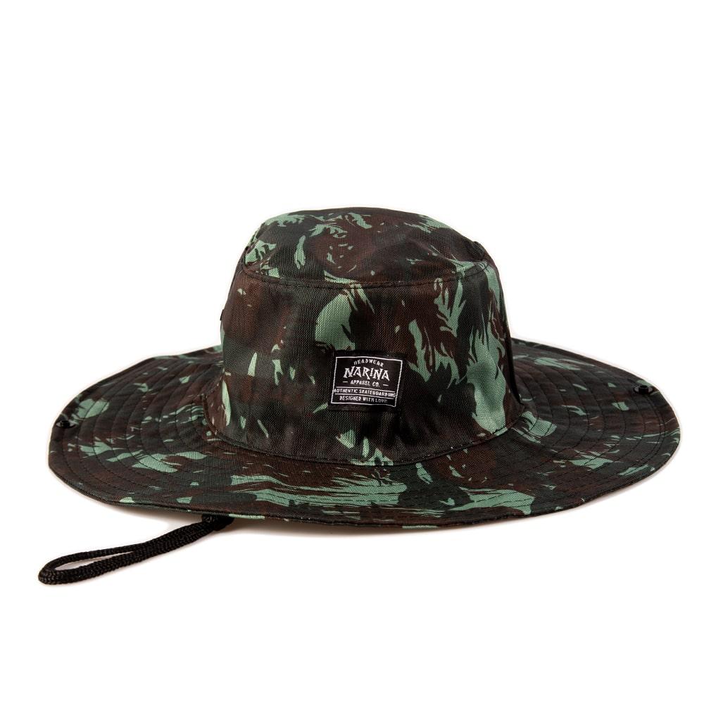 Chapéu Australiano Camuflado Verde