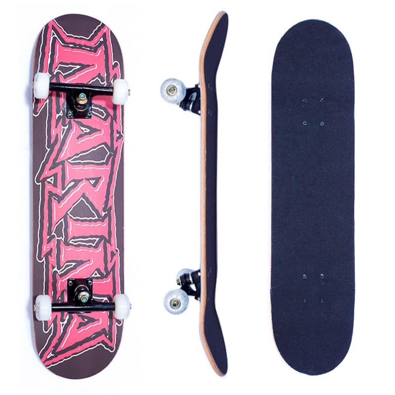Skate Montado Iniciante Rosa