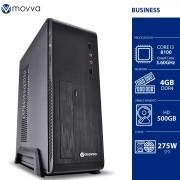 COMPUTADOR MERCURY INTEL I3 8100 3.6GHZ 8ª GER. MEM. 4GB HD 500GB GABINETE SLIM FONTE 275W - LINUX - MVMCSI3H3105004