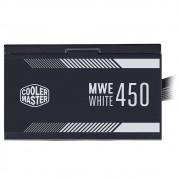 Fonte Cooler Master MWE White 450W, 80 Plus Standart