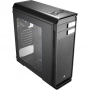 GABINETE GAMER MID TOWER AERO-500 WINDOW EN55576 PRETO - AEROCOOL