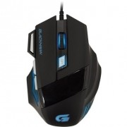 Mouse Gamer Black Hawk Om-703