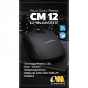 Mouse Office CM-12 - Sem fio Chinamate