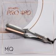 Prancha - Chapinha Titanium Mq Pro - 480°f Ionic Bivolt Profissonal + 4