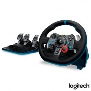 Volante Logitech Driving Force G29 Para PS4 / PS3 / PC Preto