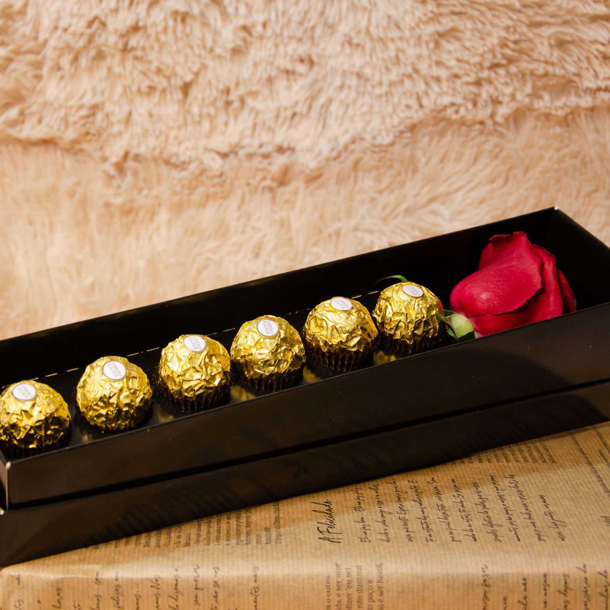 Rosa Solitária e Ferrero Rocher