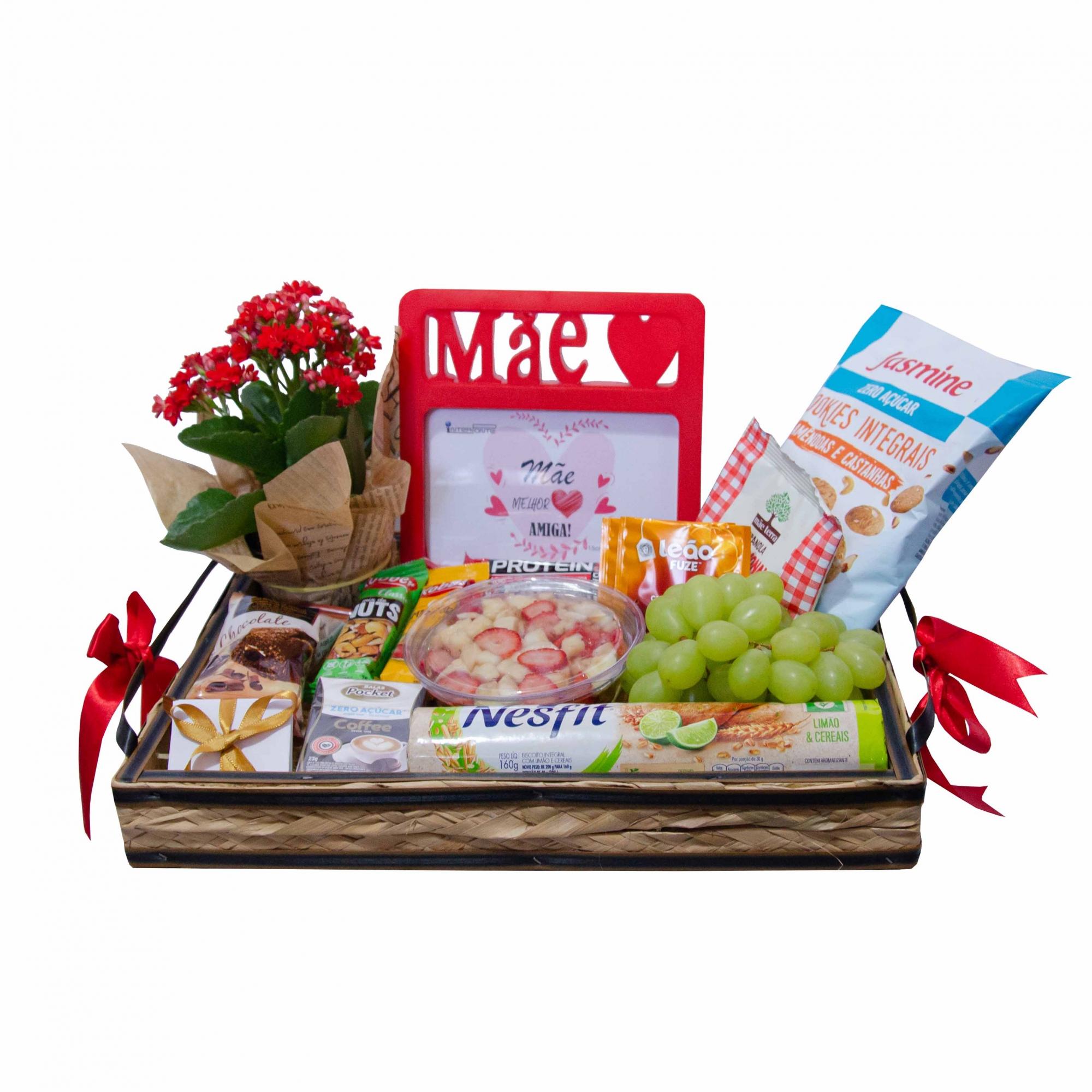 Bandeja de Cereais e Frutas - Fit - Dia das Mães