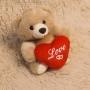 Ursinho pequeno de Pelúcia - Love
