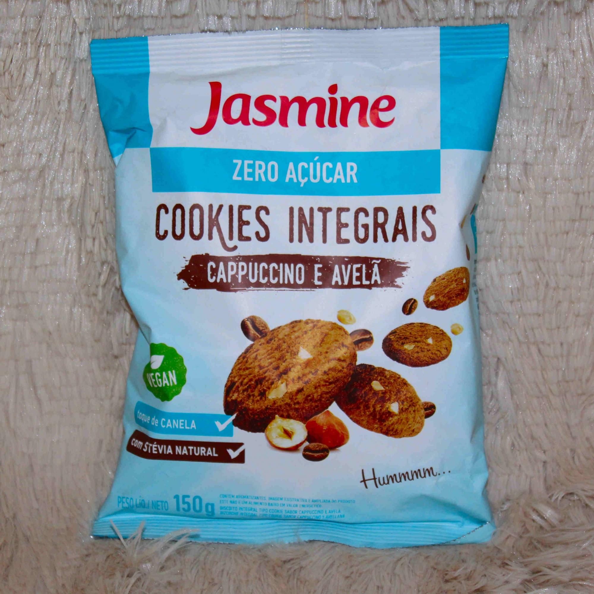 Adicional Cookies Integrais de Cappuccino e Avelã - Zero Açúcar