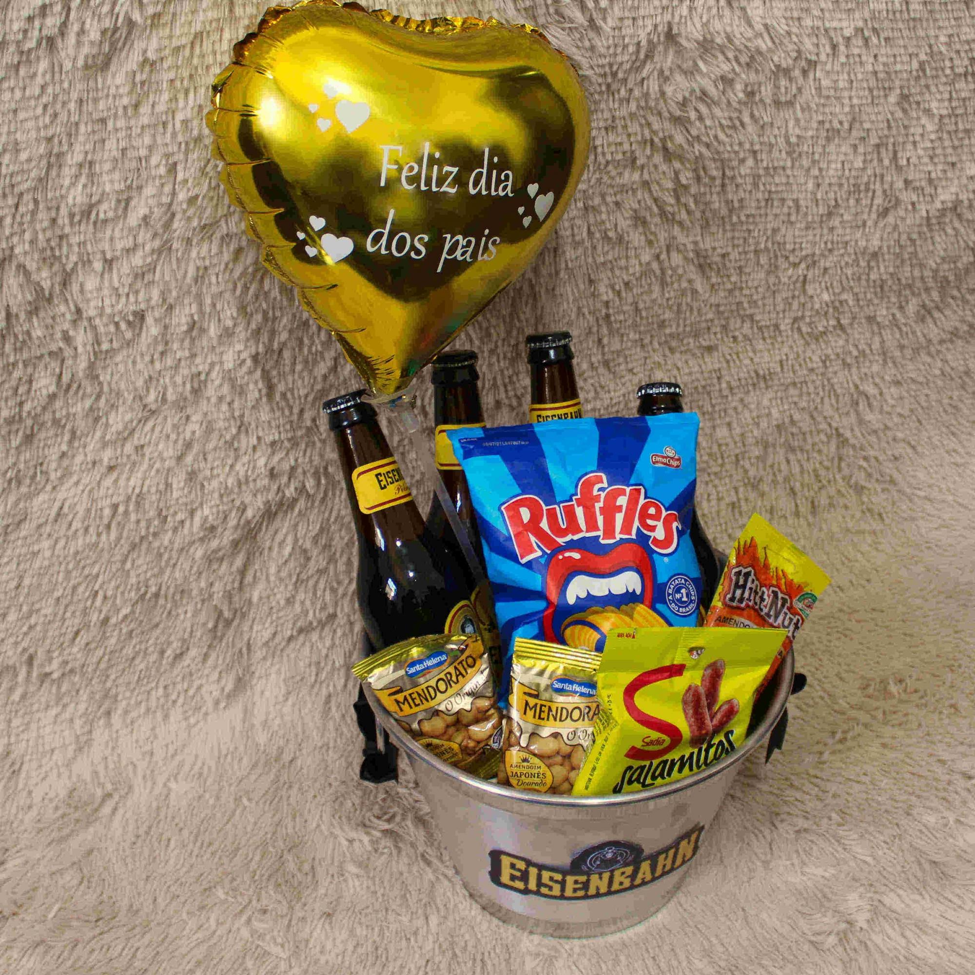 Balde de Cerveja comemorativo Dia dos Pais