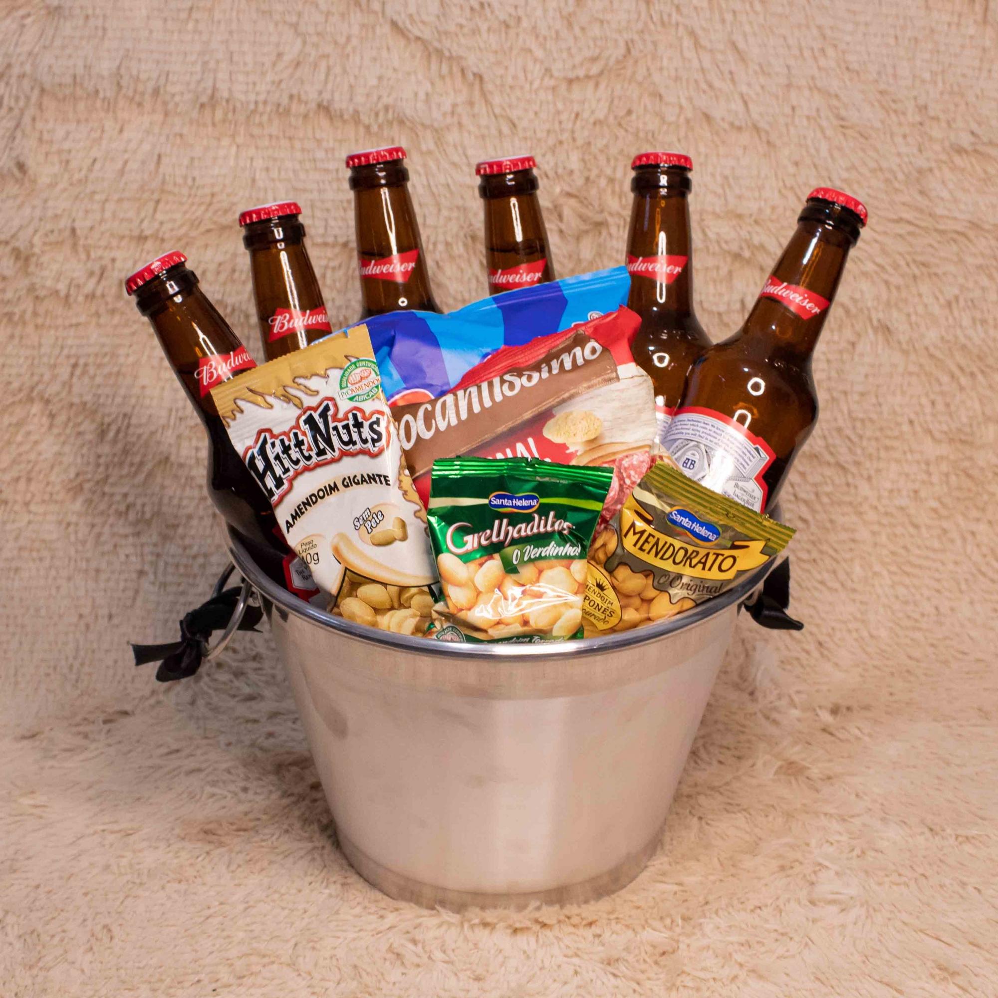 Balde de Cervejas e Petiscos