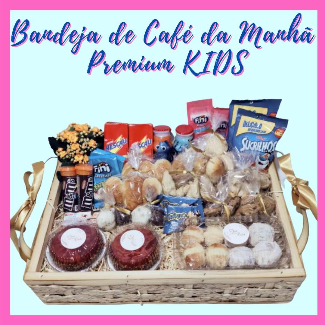 Bandeja de Café da Manhã Premium KIDS