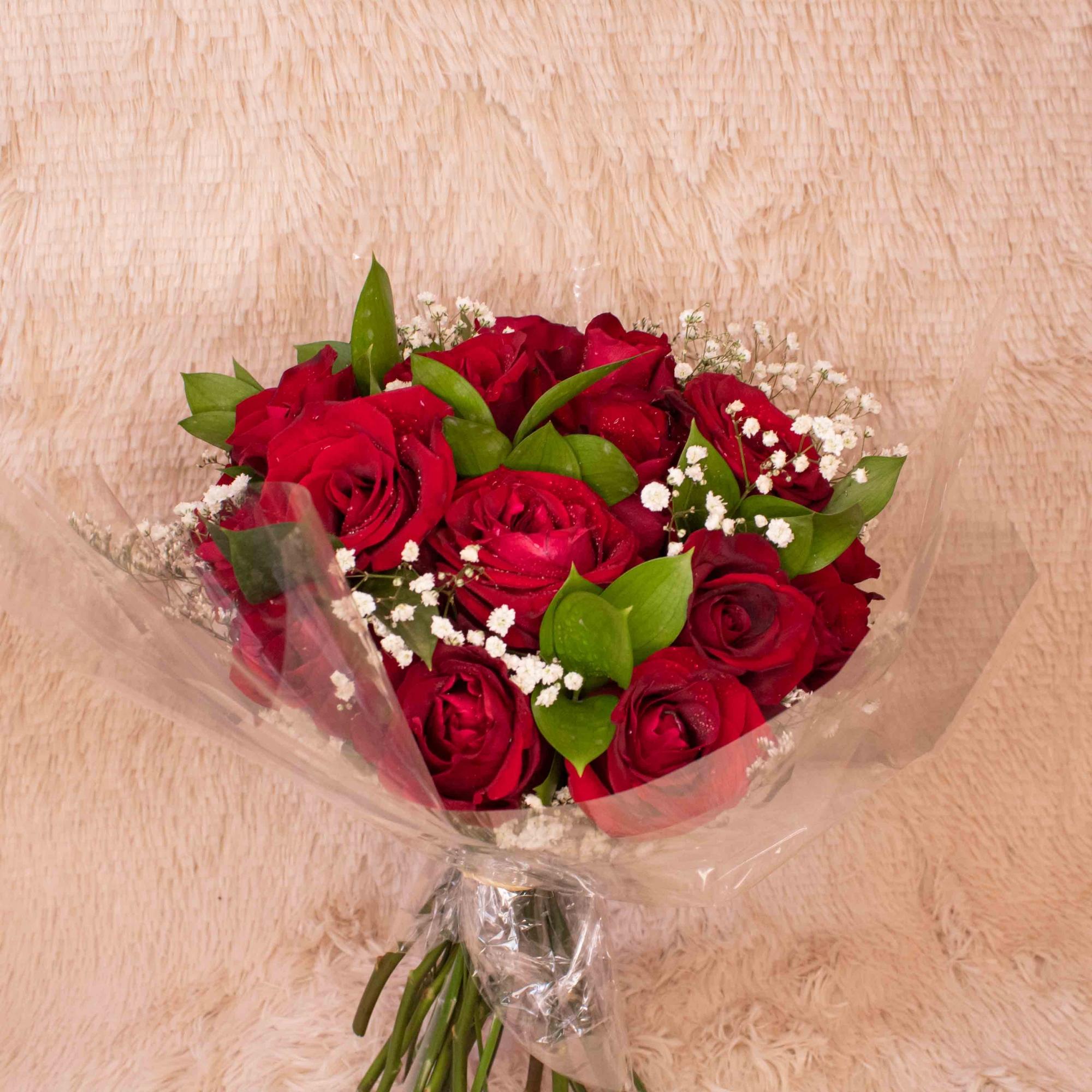 Buquê de 20 Rosas Vermelhas