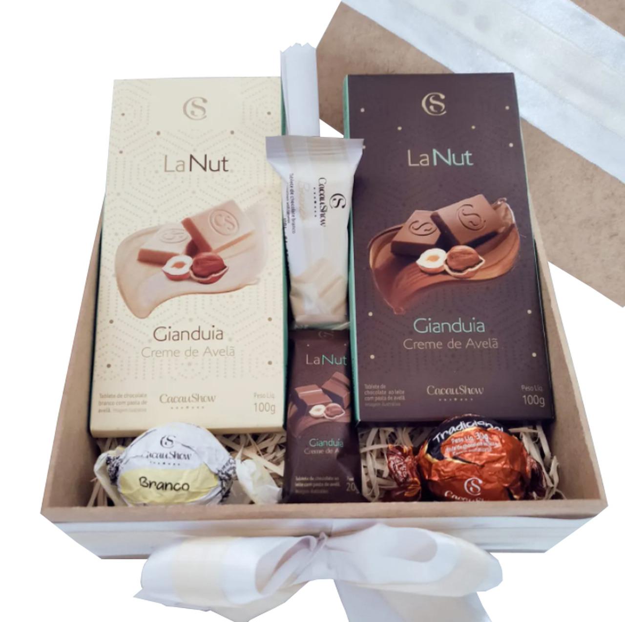 Caixa de Chocolate Cacau Show - Média