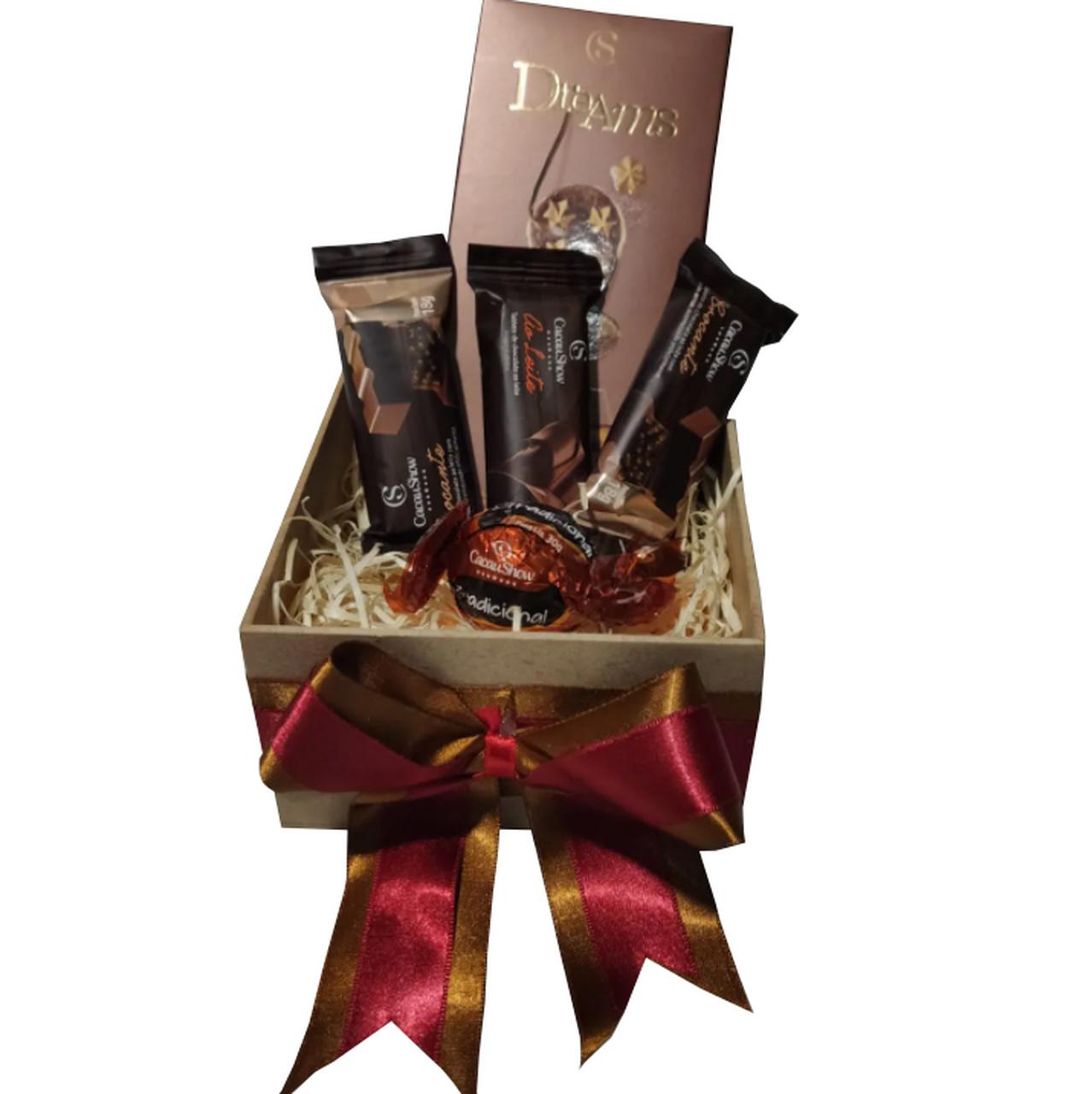 Caixa de Chocolate Cacau Show - Pequena