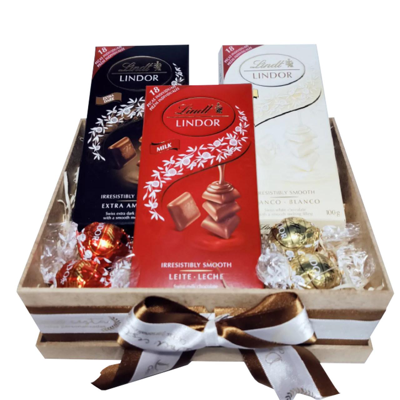 Caixa de Chocolates Lindt