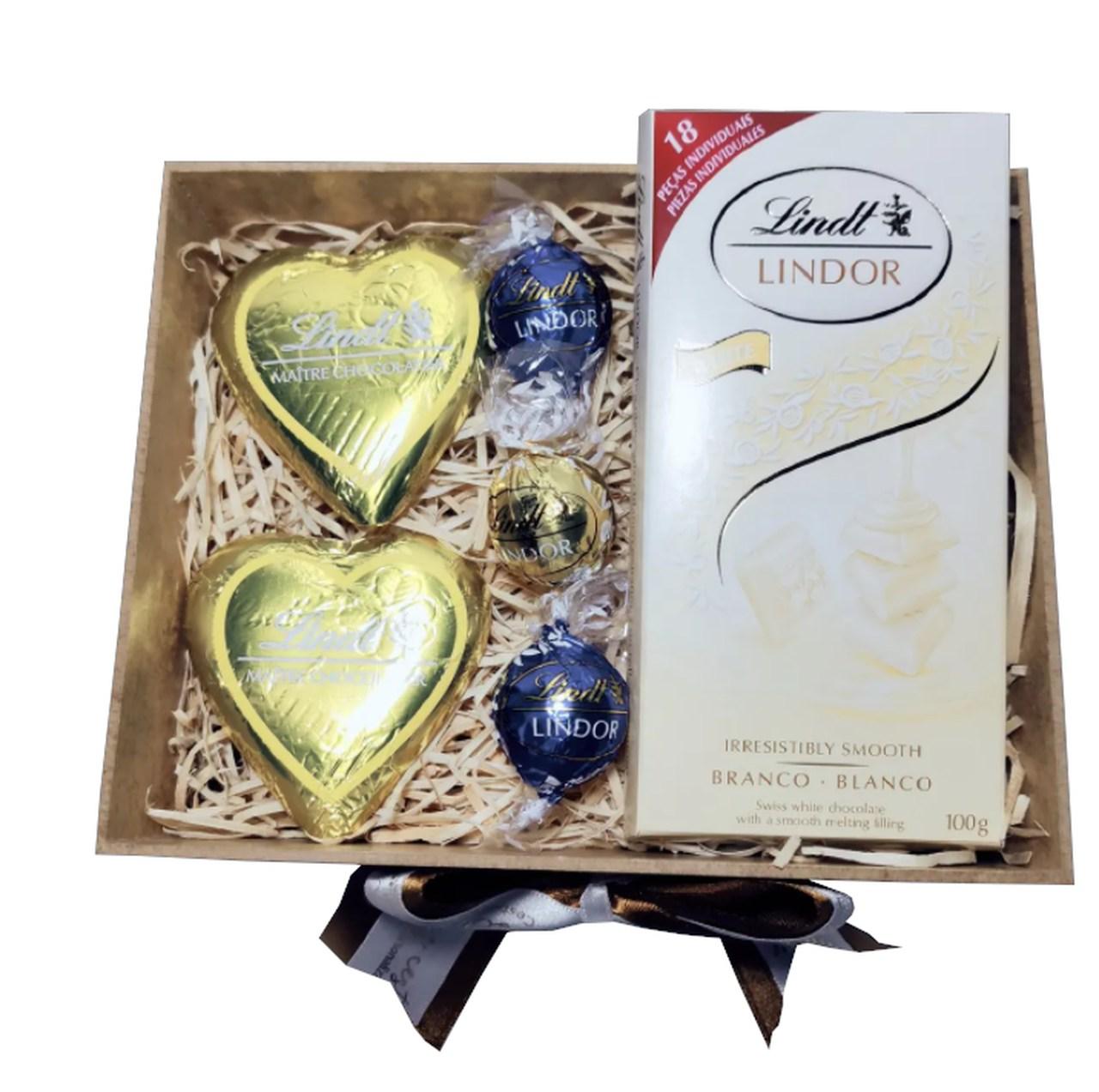 Caixa Média de Chocolates Lindt