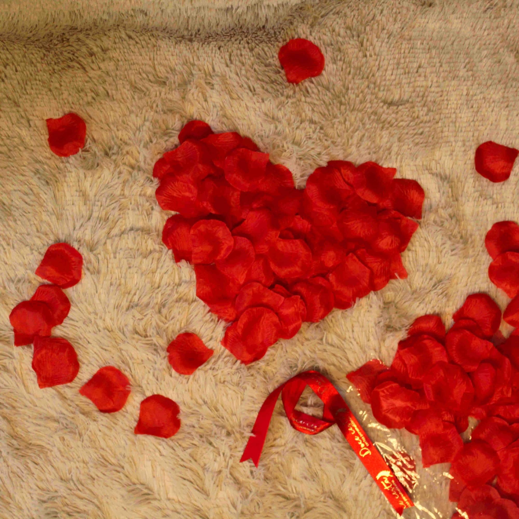Pétalas de Rosas Naturais Vermelhas
