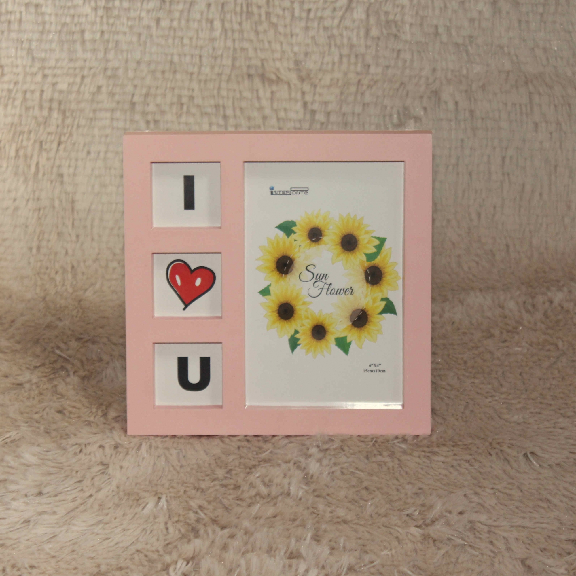 Porta Retrato - I Love U