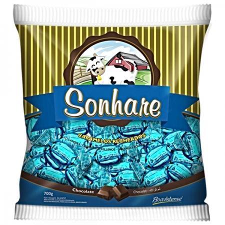 BALA SONHARE CHOCOLATE 600GR