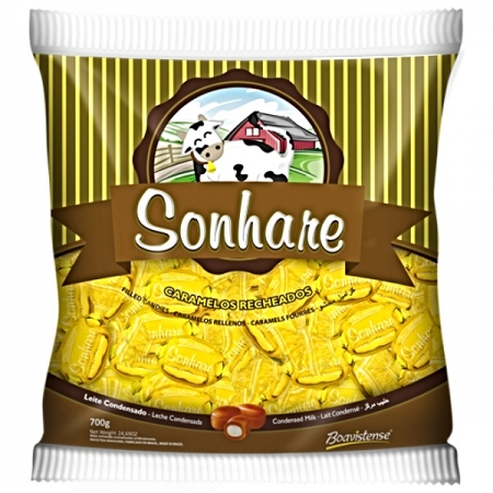 BALA SONHARE LEITE CONDENSADO 600GR