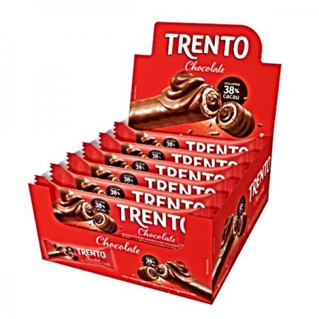CHOC TRENTO CHOCOLATE 16 UNIDADE  512G